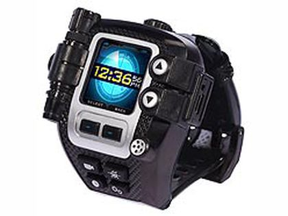 High-tech toys: Spy Net Secret Mission Video Watch by Jakks Pacific: Nifty video camera with small screen for recording and playback. Download to the computer. Built in voice changer and lie detector too! (Courtesy of Jakks Pacific)