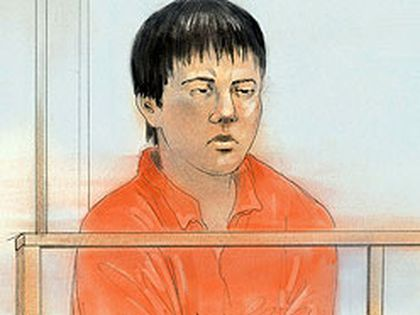Zhou Fang, 24, of Ottawa, is charged with first-degree murder. (Sketch courtesy of CTV News Toronto/John Mantha)