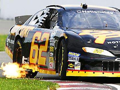 Brendan Gaughan takes a practice run before August's Nascar Nationwide race at the Circuit Gilles Villeneuve in Montreal.