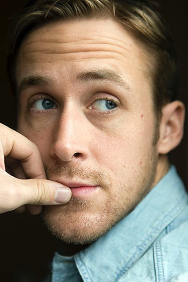 """Actor Ryan Gosling of """"Blue Valentine"""" poses for a photo before an interview with Bruce Kirkland at the Hotel InterContinental during the Toronto International Film Festival on September 15, 2010. (Michael Peake/QMI Agency)"""