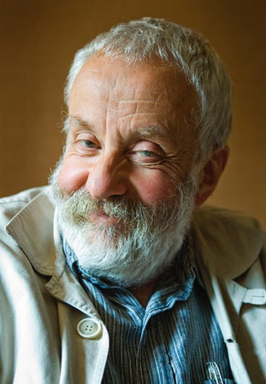 """Director Mike Leigh of """"Another Year"""" poses for a photo during a Toronto International Film Festival interview at the Hotel InterContinental on September 15, 2010. (Ernest Doroszuk/QMI Agency)"""