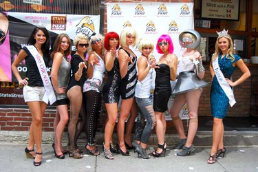 The World's largest Lady Gaga look-a-like contest was held in Chicago, Illinois on August 5, 2010. (C.M. Wiggins/WENN.com)