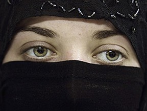 Should women be allowed to wear niqabs at citizenship ceremonies? (REUTERS/Khaled al-Hariri)
