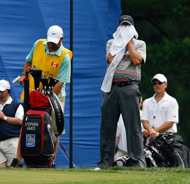 Canada's Stephen Ames at the second round of the 2010 RBC Canadian Open at St George's Gold Club in Toronto July 23, 2010. (Michael Peake/QMI Agency)