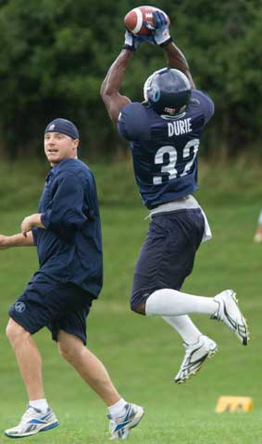 The Argos practice at Erindale College on Monday  July 19, 2010. (Dave Thomas/QMI Agency)