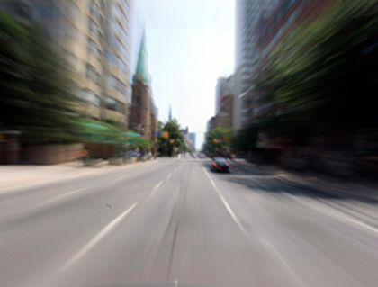 Jarvis St. in downtown Toronto will lose its fifth middle lane for a bike path. (STAN BEHAL/Toronto Sun)