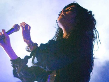 The Dead Weather performed at the Sound Academy in Toronto on July 15, 2010. (Mark O'Neill, Toronto Sun)