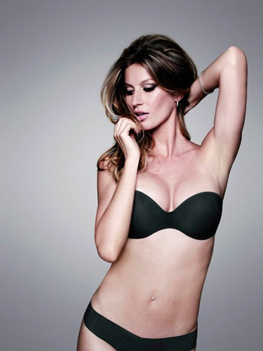Brazilian model Gisele Bundchen poses for the Hope lingerie company's latest ad campaign, in a handout photo released May 8, 2010. Bundchen returned to star in an ad campaign for lingerie and showed good form a few months after the birth of her first son, Benjamin. (REUTERS)