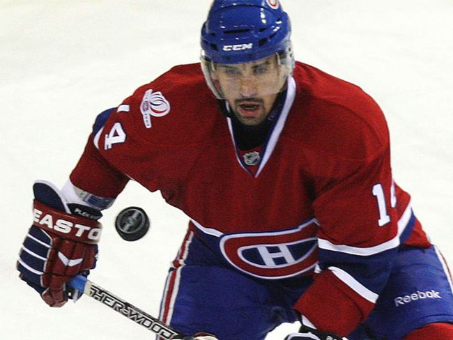 Coming off a 70-point season, Tomas Plekanec of the Habs is one of the top looming free agents in a weak market. (ANDRE FORGET/QMI Agency file photo)