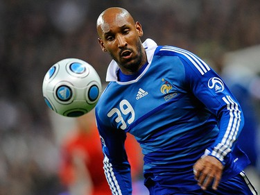 Nicolas Anelka Country: France. Position: Striker/Winger. Club Team: Chelsea. Age: 31. Bio: Anelka made his first major national team appearance at Euro 2000, which France won. He was also part of the French squad that won the 2001 FIFA Confederations Cup. Despite a promising start to his career, Anelka lost his place in the national team from 2001-2007. Since his time with Chelsea beginning in 2008, however, he has cemented his place in France's starting lineup with his solid play. (FRANCK FIFE/AFP)