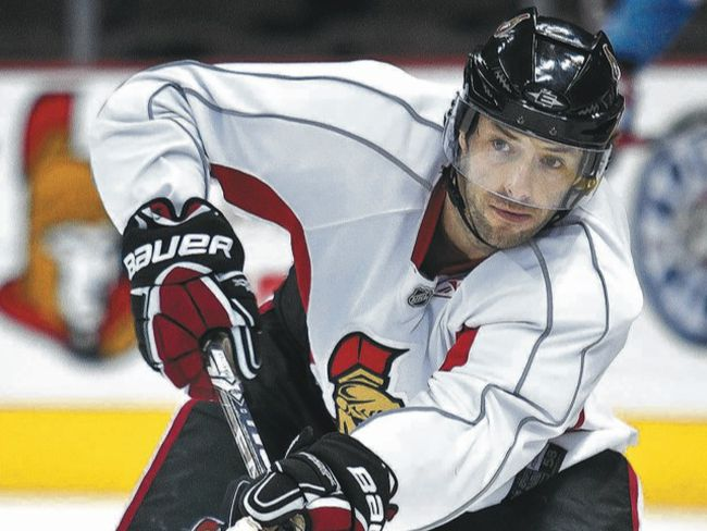 Matt Cullen like the direction the Senators are headed. (Errol McGihon, Ottawa Sun)