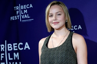 """Australian actress Abbie Cornish arrives at the Tribeca Film Festival premiere of """"The Killer Inside Me"""" in New York, April 27, 2010. (REUTERS)"""