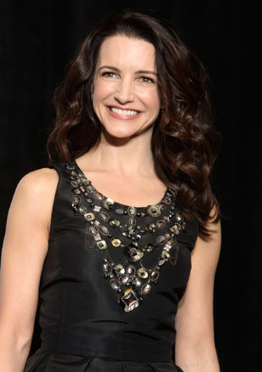 Sex and the City actress Kristin Davis poses before the awards ceremony of ShoWest, the official convention of the National Association of Theatre Owners, in Las Vegas, Nevada, March 18, 2010. (REUTERS)
