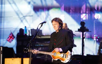 Singer Paul McCartney performs at the Hollywood Bowl in Los Angeles March 30, 2010. (Mario Anzuoni/REUTERS)