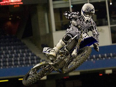 Photos from the 2010 Monster Energy Supercross event held in downtown Toronto at the Rogers Centre on March 13, 2010. (DAVE THOMAS, Toronto Sun)