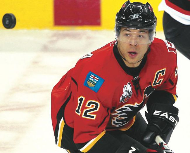 Captain Jarome Iginla is still the Calgary Flames' emotional and statistical leader, but the aging hero can't carry the squad on his back any longer. It's time for the supporting cast to step up. CALGARY SUN PHOTO