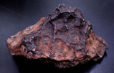 Henbury iron nickel meteorite, discovered near Henbury, Australia in 1931. For the first time in the near 100 year history of the ROM, curators have opened their vaults and gave the Toronto Sun a behind the scenes look at some of their treasures and artifacts.  (CRAIG ROBERTSON, Toronto Sun)