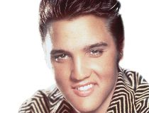 File photo of the late great Elvis Presley.