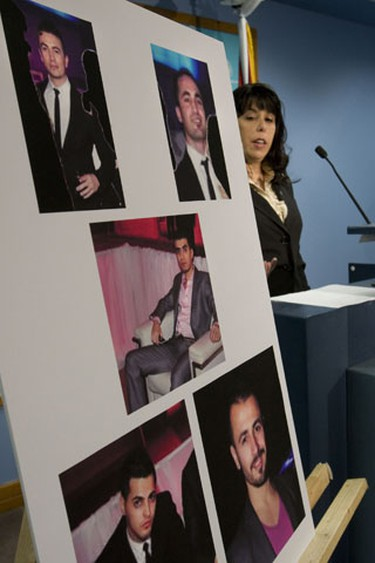Five men pictured in crystal clear images released by sex crimes cops today are being encouraged to turn themselves in after an alleged New Year's attack against two women at an upscale Toronto hotel. (Stan Behal/Toronto Sun)