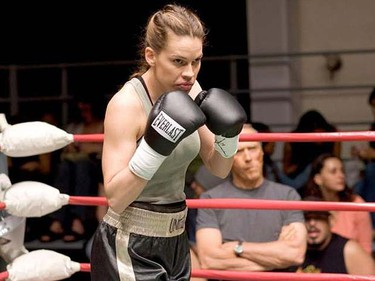 "10. ""Million Dollar Baby"" (2004) Directed by Clint Eastwood. Written by Paul Haggis, based on the book ""Rope Burns: Stories From the Corner"" by F.X. Toole. Starring Clint Eastwood, Hilary Swank and Morgan Freeman."