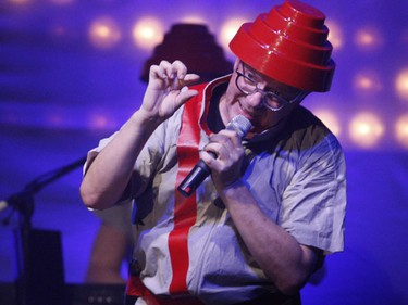 Devo energetically cracked that whip, and then some, as the '70s New Wave rockers wrapped up a much anticipated two-night stand at The Phoenix on Tuesday night in what were their first Toronto performances in 25 years. (SUN MEDIA/Jack Boland)