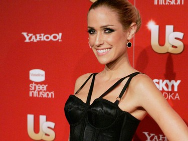 Actress Kristin Cavallari poses at the US Weekly Fall Hot Hollywood Issue party in West Hollywood, California November 18, 2009. (REUTERS)