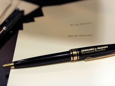Personal property of Bernard and Ruth Madoff is seen during a press preview of the auction items seized in New York and Florida by the United States Marshals Service, in New York November 13, 2009. (REUTERS)