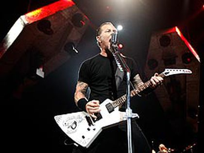 Metallica performs at the Air Canada Centre on Monday night. (Dave Abel, Sun Media)