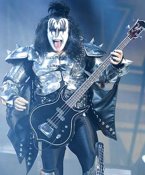KISS is coming to Edmonton. SUN FILE PHOTO