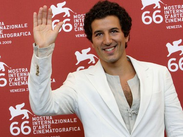 """Italian actor Francesco Scianna poses during a photo call at the Venice Film Festival September 2, 2009. The Venice Film Festival opens on Wednesday with Italian movie director Giuseppe Tornatore's movie """"Baaria"""", an epic Sicilian drama taking in Fascism, World War Two and Communism and billed as one of the country's biggest movies.  (REUTERS)"""