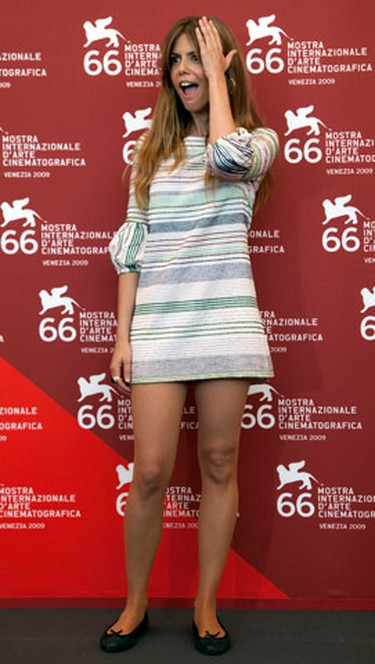 Spanish actress Manuela Velasco attends the 'REC 2' photocall at the Sala Grande during the 66th Venice Film Festival September 2, 2009.  'REC 2' is screening out of competition at the festival.   (REUTERS)