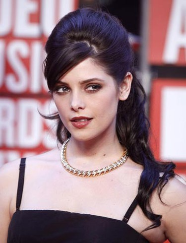 """""""Twilight"""" film actress Ashley Greene arrives at the 2009 MTV Video Music Awards in New York, September 13, 2009.     REUTERS/Eric Thayer"""