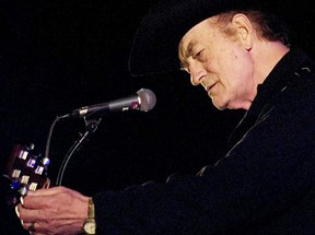 Stompin' Tom Connors plays Scotiabank Place Thursday night. (DARREN BROWN/Sun Media)