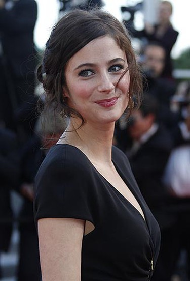 Actress Melanie Bernier arrives on the red carpet for the screening of the film Des Hommes et des Dieux (Of Gods and Men) in competition at the 63rd Cannes Film Festival May 18, 2010.    REUTERS/Christian Hartmann