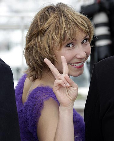 Cinefondation Jury member and actress Dinara Droukarova poses during a photocall at the 63rd Cannes Film Festival May 19, 2010. REUTERS/Vincent Kessler
