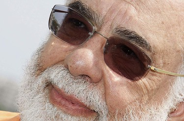 """Writer, director and producer Francis Ford Coppola attends a photocall for the film """"Tetro"""" during a photocall at the 62nd Cannes Film Festival May 13, 2009.  REUTERS/Regis Duvignau"""