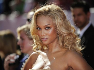 Actress/model Tyra Banks arrives at the 35th Annual Daytime Emmy Awards at the Kodak theatre in Hollywood, California June 20, 2008. (File photo)