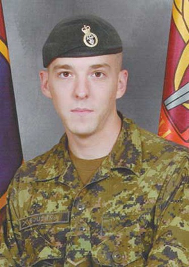 Cpl. Stephen Frederick Bouzane, June 20, 2007: 3rd Battalion Princess Patricia's Canadian Light Infantry. Bouzane was born in Newfoundland but moved to Toronto as a toddler. Relatives said he wanted to be in the army ever since he was a child, following in his uncle's footsteps. Killed at age 26 when his vehicle hit a roadside bomb near a forward-operating base west of Kandahar.   (Hand-out)