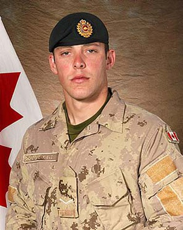 Sapper Sean David Greenfield, Jan. 31, 2009: Killed when his armoured vehicle struck a roadside bomb in the volatile Zhari district west of Kandahar city. (DND/HO) ()