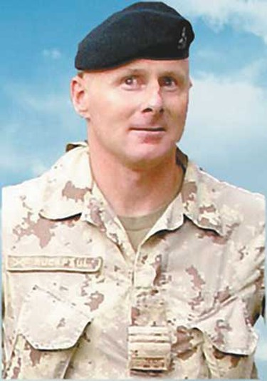 Maj. Raymond Ruckpaul, Aug. 29, 2007: An armoured officer from Hamilton, Ont., based at the NATO Allied Land Component Command Headquarters in Heidelberg, Germany. He leaves a wife and two children. Died at the age of 42 from a gunshot wound in his room at the headquarters of NATO's International Security Assistance Force in Kabul. (Hand-out)