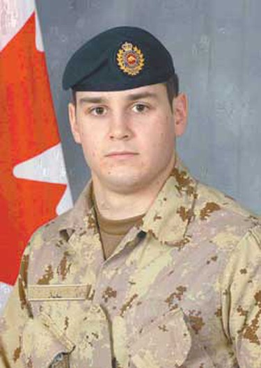 Sapper Stephan Stock, Aug. 20, 2008: Stock graduated from Medicine Hat College's engineering program in 2004 and joined the forces full-time the following year. Friends and family remember Stock as a funny, warm-hearted person who would give the shirt off his back to help someone in need. He was killed at age 25 when his vehicle was hit by an improvised explosive device. (Hand-out)