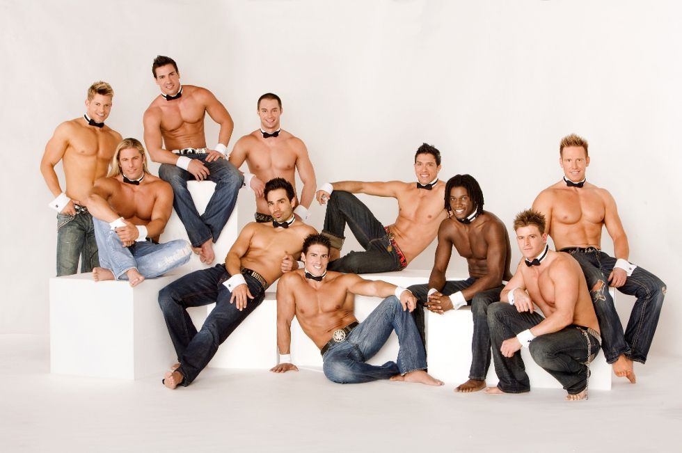 Previous Next The Classic Shirt Shredding Chippendales Strip Show At The Rio Is For Ladies Only
