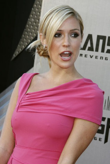 """Actress Kristin Cavallari poses at the Los Angeles premiere of """"Transformers: Revenge of the Fallen"""" June 22, 2009. (Fred Prouser, Reuters)"""