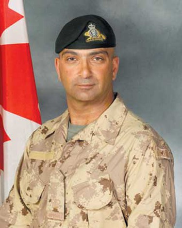 Warrant Officer Hani Massouh, Jan. 6, 2008: Born in Alexandria, Egypt, Massouh was a career soldier who served in the Canadian Forces for more than 17 years, including several overseas missions in Haiti, Croatia, Somalia and Yugoslavia. Killed at age 41 when his armoured vehicle rolled over in rugged terrain southwest of Kandahar. (Hand-out)