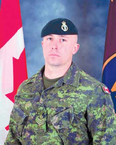 """Sgt. Jason Boyes, March 16, 2008: Of Napanee, Ont., Boyes was described as a """"committed warrior"""" who loved his job and the military. He was killed at the age of 32 by an explosive device while on foot patrol in the Panjwaii district of Kandahar province. He leaves his wife and daughter. (Hand-out)"""