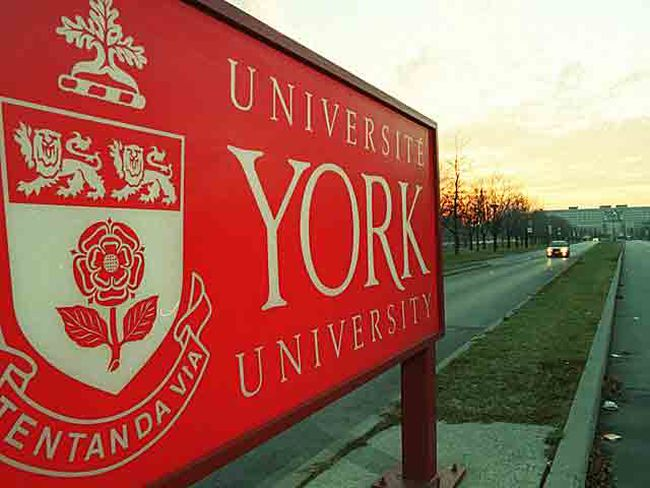 York University sign on Keele south of Steeles. (Sun Media files)