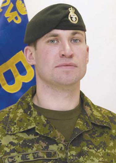 """Cpl. Paul Davis, March 2, 2006: Killed along with soldier Tim Wilson when their vehicle ran off the road, Davis, 28, was called """"a breath of fresh air in a world filled with hurt and cruelty."""" The Nova Scotia native was married and the father of two young children. (Hand-out)"""