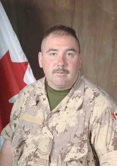 """Cpl. Albert Storm, Nov. 27, 2006: Killed along with fellow soldier, Bobby Girouard, Storm was a 36-year-old father of two from Niagara Falls, Ont. During a memorial service in St. Catharines he was remembered as having """"the back of an ox and the heart of an angel."""" Friends called him """"Stormin' Norman."""" (Hand-out)"""