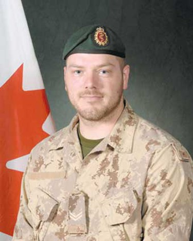 Cpl. Nicolas Raymond Beauchamp, Nov. 11, 2007:  From Valcartier, Que. Killed at age 28 when his light armoured vehicle hit a roadside bomb near Bazar-e Panjwaii. Died leaving his common-law spouse who also served in the miliatary at the time. Cpl. Dolores Cramptons was a medical technician based with Beauchamp's unit in Kandahar. (Hand-out)
