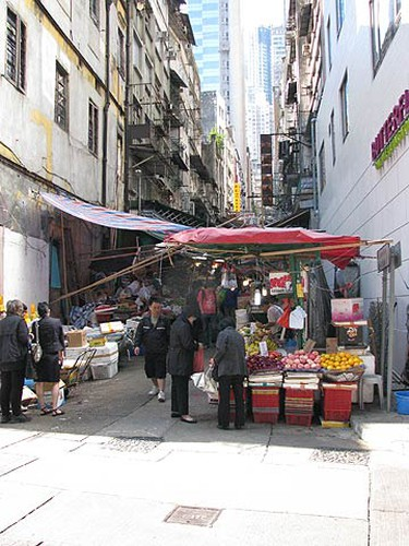 The wet market on Graham Street is a slice of real Hong Kong life. This is the place to go for craft soy sauce, 100-year-old eggs and other traditional foods. (John Coubourn/QMI Agency)